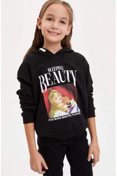 DeFacto Kız Çocuk Disney Princess Lisanslı Sweatshirt(125919950)