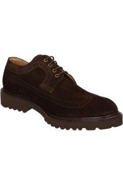 Chaussures Evoluzion élégantes marron daim AD261(115483792)
