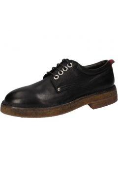 Chaussures Moma élégantes noir cuir AE334(115399451)