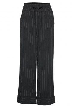 Heavy Crepe Wide Pants Hosen Mit Weitem Bein Schwarz GANNI(114157844)