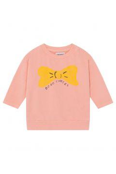 Sweatshirt mit Schleife aus Bio-Baumwolle(117292574)