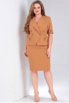 Комплект юбочный Milana 205 светло-коричневый(115246298)