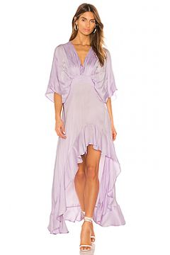 Платье с асимметричным подолом thea - Young Fabulous & Broke(115064034)