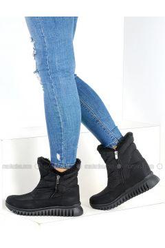 Black - Boot - Boots - Pembe Potin(110313749)