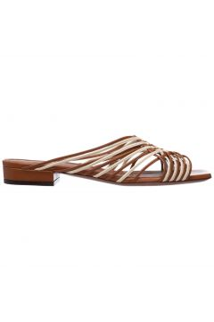 Women's genuine leather slippers sandals(117039214)