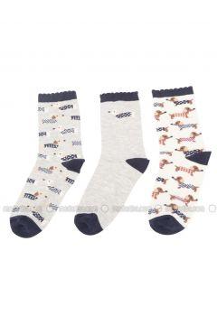 Multi - Socks - DeFacto(110325601)