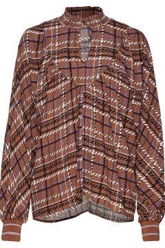 Blouse Bluse Langärmlig Braun SOFIE SCHNOOR(114157851)