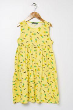Limon Açık Sarı Elbise(113997951)