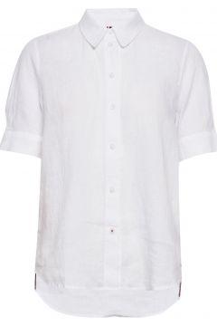 Th Essential Penelope Shirt Ss Kurzärmliges Hemd Weiß TOMMY HILFIGER(111057433)