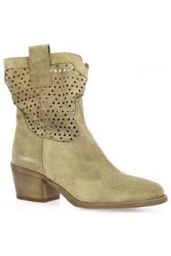 Bottines Gaia Boots cuir velours(127960904)
