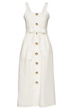 Susann Kleid Knielang Weiß FALL WINTER SPRING SUMMER(114163547)