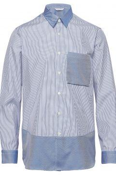 Boxy Shirt Longsleeve Hemd Business Blau HOLZWEILER(114151554)