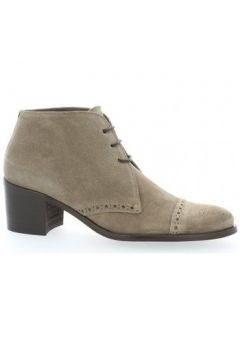 Chaussures Paco Valiente Boots cuir velours(115611066)