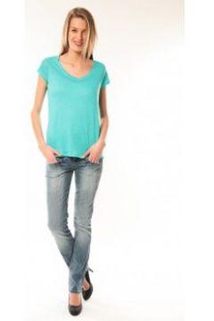 T-shirt Little Marcel T-Shirt Talin E15FTSS0116 Bleu Turquoise(127874344)