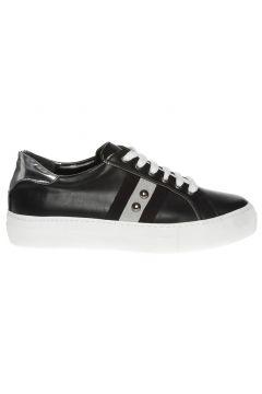 Black Pepper Kadın Bantlı Siyah Düz Ayakkabı(113969255)