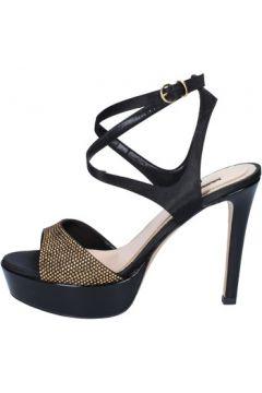 Sandales Bacta De Toi sandales noir satin BY90(88522596)