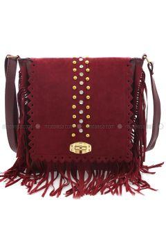Maroon - Shoulder Bags - Elvin Bags(110333791)