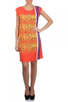 Cotton Bar Desenli Elbise(113943507)