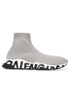 Balenciaga Erkek Graffiti Speed Gri Sneaker 44 EU(120498248)