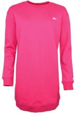 Robe Tommy Jeans Robe sweat rouge bordeaux pour femme(88613988)