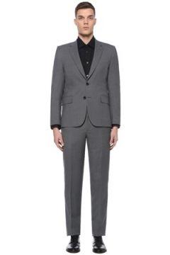 Paul Smith Erkek Tailored Fit Gri Yün Takım Elbise 46 IT(107373357)