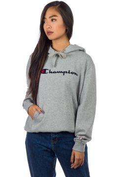 Champion American Logo Hoodie grijs(94059365)
