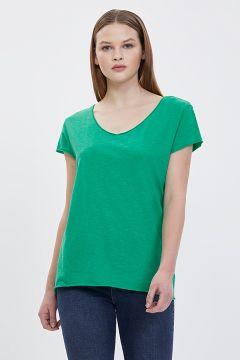 Loft LF 2023146 Green T-Shirt(126443357)