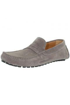 Chaussures Les Mocassins Tropéziens Mocassins les tropéziens ref_lmc43296 Gris Clair(115557365)