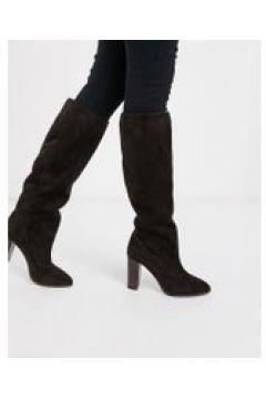 Karen Millen - Sappho - Stivali flosci al ginocchio marrone scamosciato(121707937)