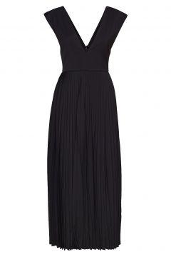Pleated Maxi Dress Maxikleid Partykleid Schwarz CATHRINE HAMMEL(114163761)