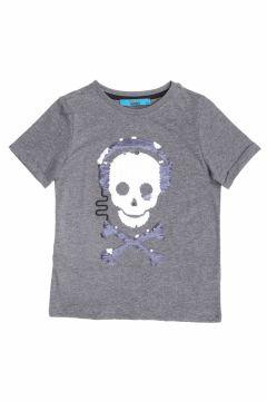 Funky Rocks Antrasit Melanj T-Shirt(113994441)