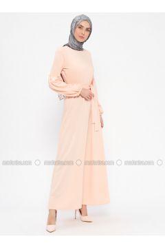 Powder - Crew neck - Unlined - Dresses - PINK APPLE(110313867)