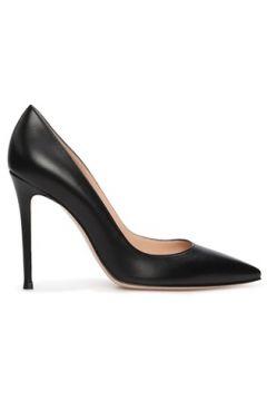 Gianvito Rossi Kadın Siyah Deri Stiletto 36 EU(118330354)