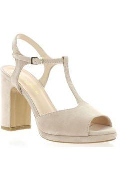 Sandales Fremilu Nu pieds cuir velours(127910208)