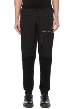 Givenchy Erkek Siyah Garni Detaylı Dar Paça Eşofman Altı S EU(127545849)