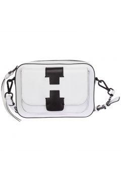 Women's leather cross-body messenger shoulder bag(118230120)