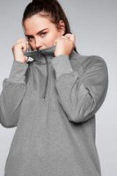 Sheego Sweatshirt Sheego grau meliert(111492652)