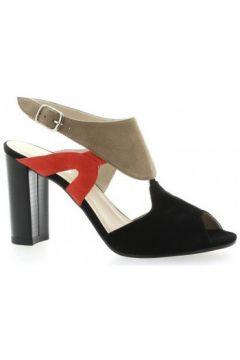 Sandales Brenda Zaro Nu pieds cuir velours /(115611432)