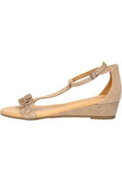Sandales Keys sandales beige daim AG789(115393543)