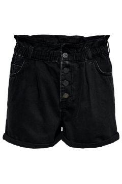 ONLY Paperbag Shorts Damen Schwarz(114439827)