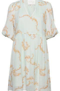 Omega Loose Dress Kurzes Kleid Blau NOTES DU NORD(114164258)