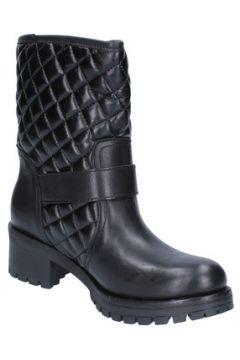 Bottes Daniela Dolci bottines noir cuir AC80(115393574)