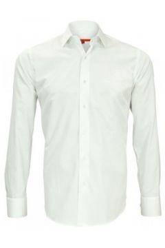 Chemise Andrew Mc Allister chemise brodee leeds blanc(115424037)