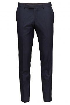 Damien Trousers Anzughosen Businesshosen Blau OSCAR JACOBSON(116268873)