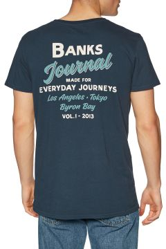 Banks Encore Kurzarm-T-Shirt - Dirty Denim(116373354)