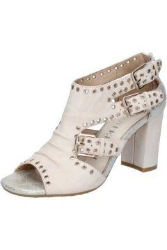 Sandales Luca Stefani STEFANI sandales beige cuir clous BZ665(115398897)
