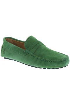 Chaussures Les Mocassins Tropéziens Mocassins les tropéziens ref_lmc43296 Vert(98500806)