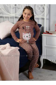 Dusty Rose - Crew neck - Multi - Kids Pijamas - Elitol Pijama(110318199)