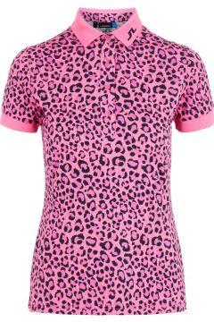 J.LINDEBERG Tour Tech Poloshirt Damen Pink(109251185)