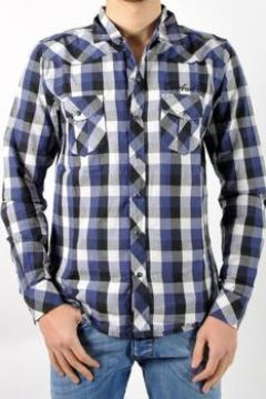 Chemise Be And Be Touchdown Chemise Bleue(115431156)